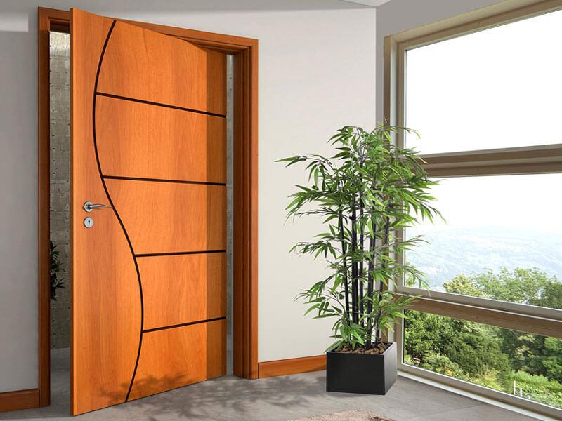 Porta para ambiente interno