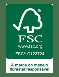 Selo de certificação da madeira